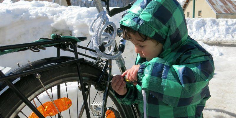 Comment réparer un pneu de vélo?