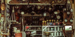 Le marché de l'antiquité