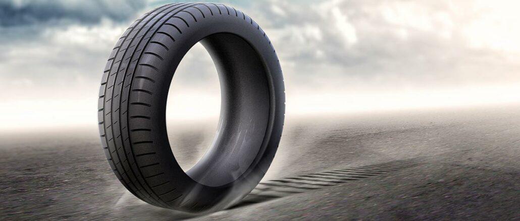 pneu hiver sur sol mouillé